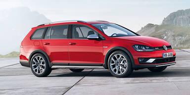 VW verrät den Preis des Golf Alltrack