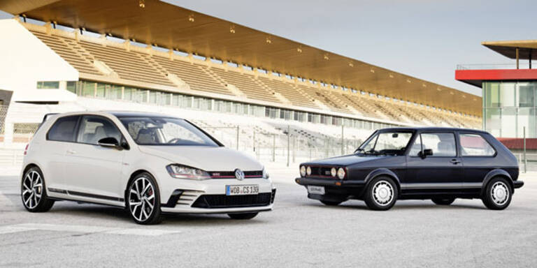 Golf GTI Clubsport vs. Golf GTI Pirelli