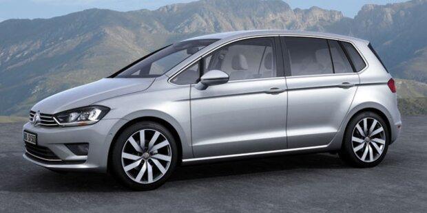 Das kostet der VW Golf Sportsvan