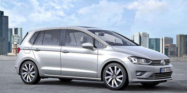 Das ist der brandneue VW Golf Sportsvan