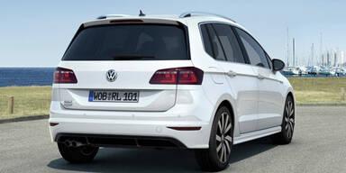 Golf Sportsvan startet als Sport Austria