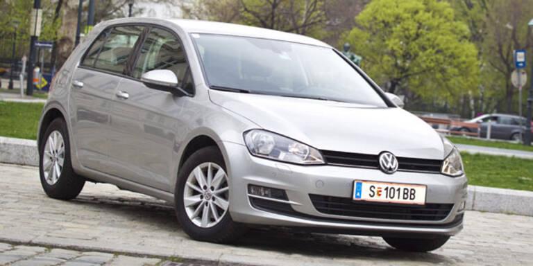Starkes Minus für den VW Golf