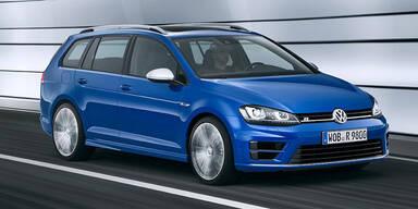 VW greift mit dem Golf R Variant an