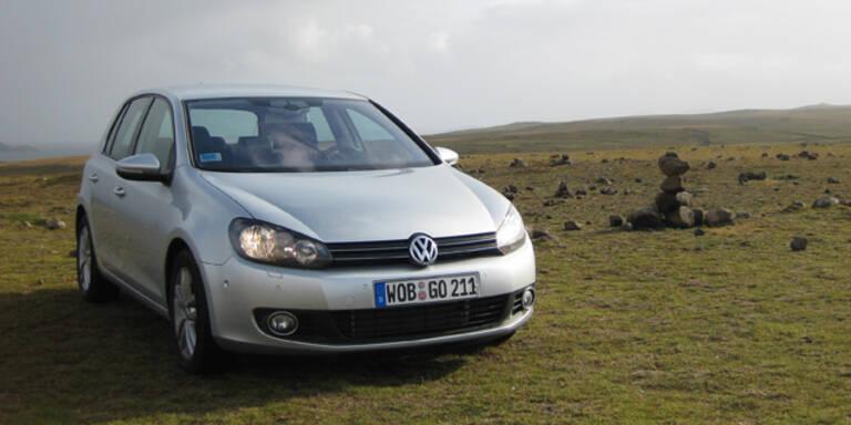 VW Golf in Österreich am 5.-teuersten