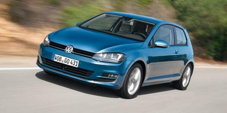Verkaufsstart für VW's neuen Golf