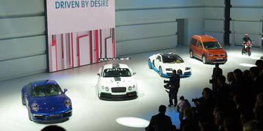 VW-Konzernabend auf dem Pariser Autosalon