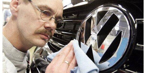 VW verkaufte fast 6 Mio. Autos