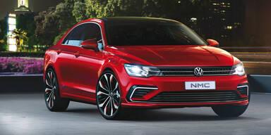 VW zeigt das New Midsize Coupé