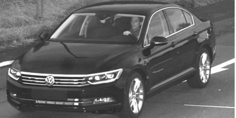 Neuen VW Passat vom Werksgelände geklaut