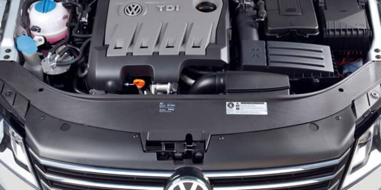 VW-Konzern ruft 300.000 2.0l-Diesel zurück