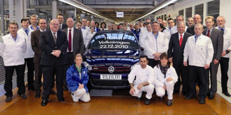 Weltweit 111.111.111 Volkswagen produziert