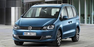 VW verpasst dem Sharan ein Facelift