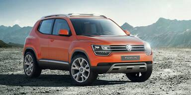 VW zeigt verbesserte Version des Taigun