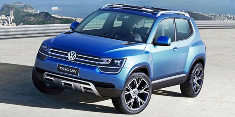 VW stellt die Mini-SUV-Studie