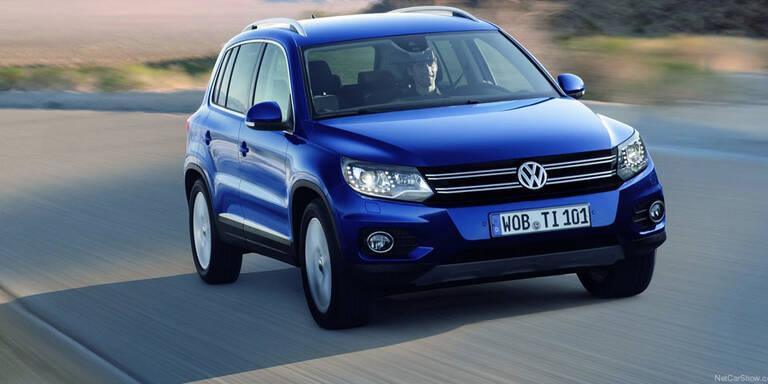 VW startet Tiguan- und Caddy-Rückruf