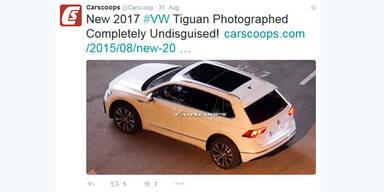 Fotos zeigen den neuen VW Tiguan