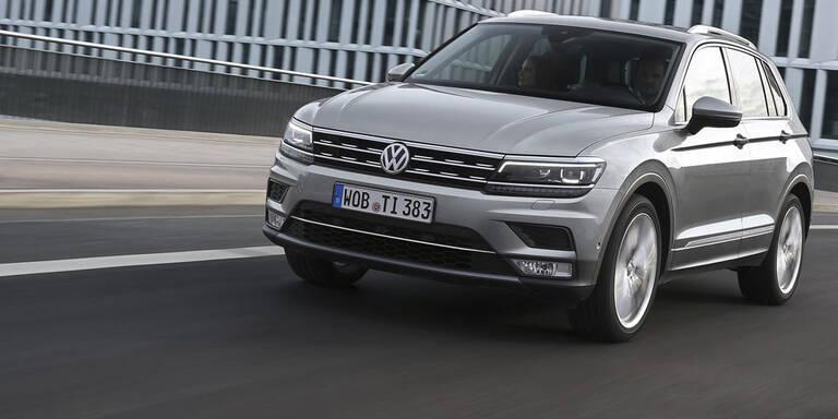Neuer VW Tiguan startet in Österreich