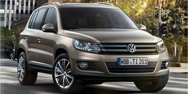 VW verpasst dem Tiguan ein Facelift