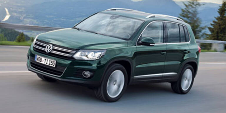 """Erste Ausfahrt mit dem """"neuen"""" VW Tiguan"""