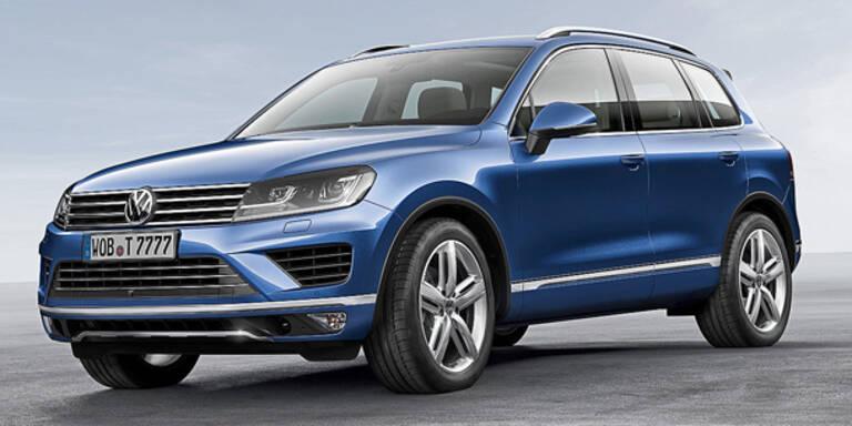 VW verpasst dem Touareg ein Facelift