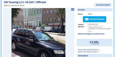 Irres Auto-Inserat wird Internet-Hit