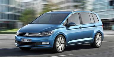 VW stellt völlig neuen Touran vor