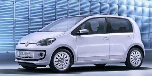 Das ist der VW Up! mit fünf Türen