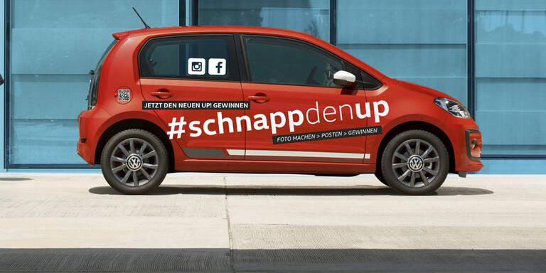 VW verlost Up! für Social-Media-Nutzer
