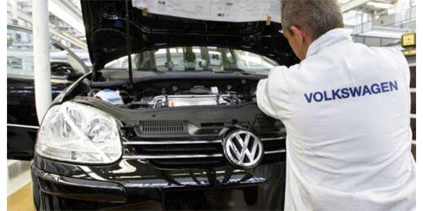 VW-Arbeiter erstreiken Jobgarantie