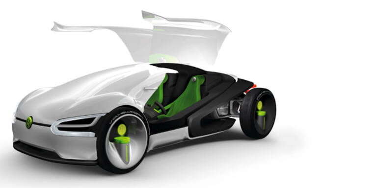 So stellt sich VW die Autozukunft im Jahr 2028 vor