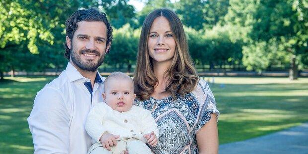 Schweden-Taufe: Das sind die Paten