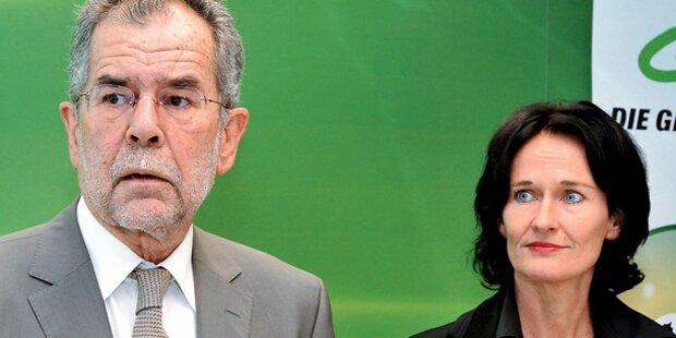 Grüne Spitze will Van der Bellen als EU-Kandidat