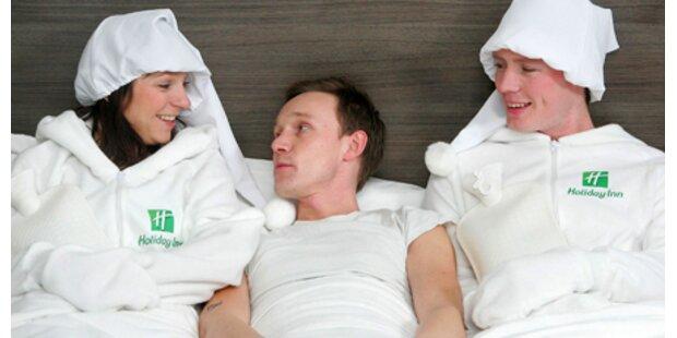 Hotel bietet menschliche Wärmflasche an