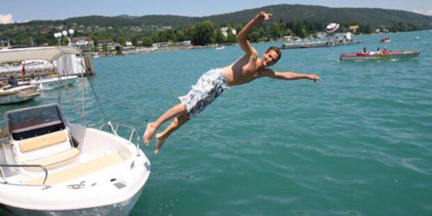 Österreich: Endlich ab in den See