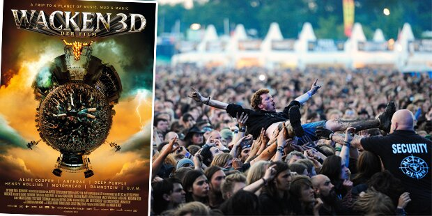 Kinowahnsinn: Wacken in 3D
