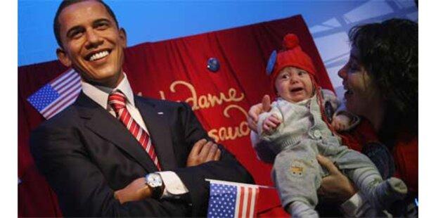 Obama als Wachsfigur