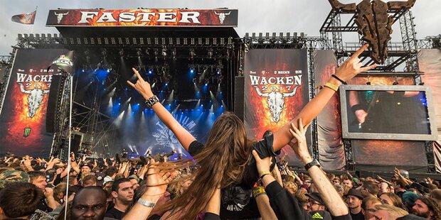 Wacken 2018 mit mehr als 100 Bands
