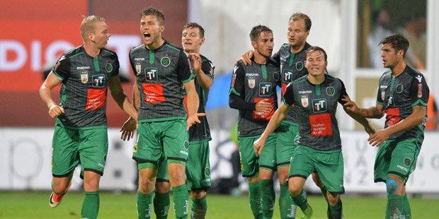 Wacker gewinnt Tiroler Derby