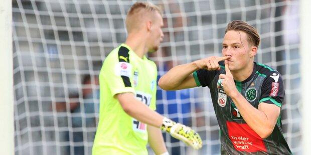 0:3 gegen Wacker: Erste Pleite für Mählich