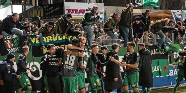 Wacker dreht Derby gegen Wattens