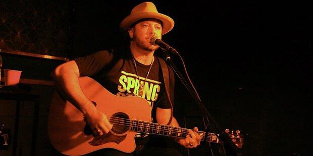 Country-Star Wade Bowen begeisterte München