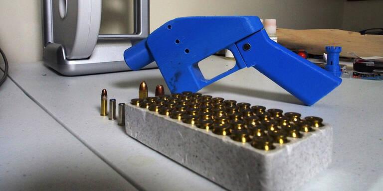 USA: Keine Waffenpläne für 3D-Drucker