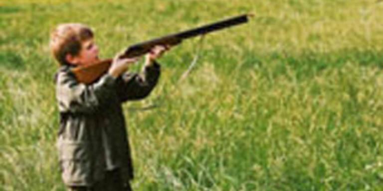 Kindergewehre für Dreijährige aus Angebot genommen