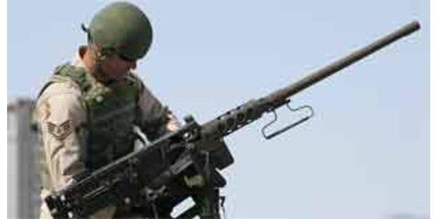 USA beherrschen weltweiten Waffenhandel