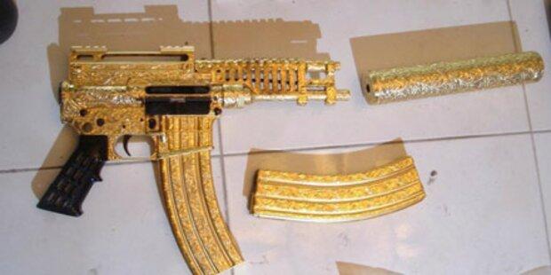 Drogenboss hatte Waffen mit Diamanten