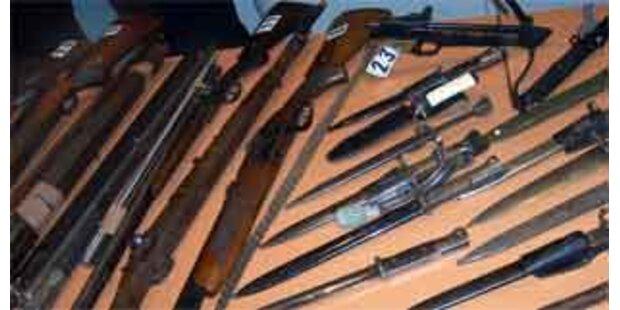 Größter Waffenfund in NÖ seit Jahrzehnten