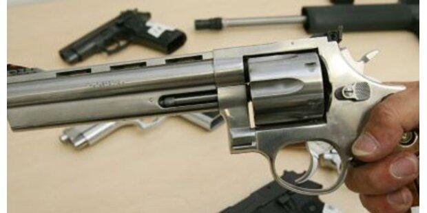 Kärntner hortete Pistolen und Gewehre