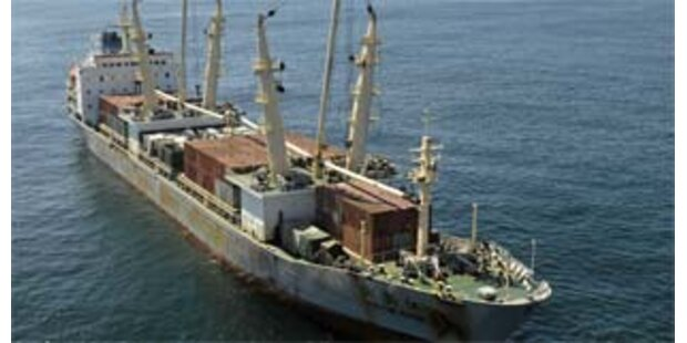 Schiff mit Waffen für Simbabwe auf dem Heimweg