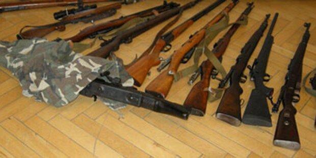 Illegales Waffenarsenal in NÖ entdeckt