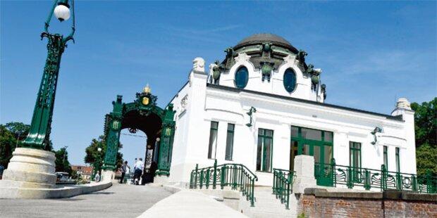 Otto Wagner Pavillon erstrahlt in neuem Glanz